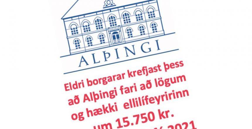 Ellilífeyrir hækki í samræmi við aðra samninga. Maður á mann. graiherinn.is